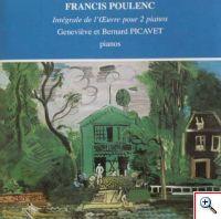 Françis Poulenc - Intégrale de l'oeuvre pour 2 pianos