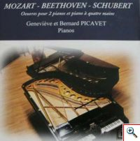 Oeuvres pour 2   pianos et pianos à quatre mains